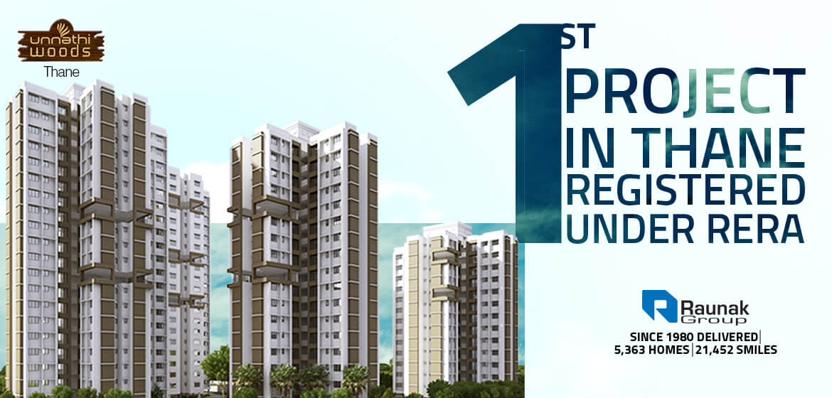 Raunak Group gets the first RERA compliant project in Thane
