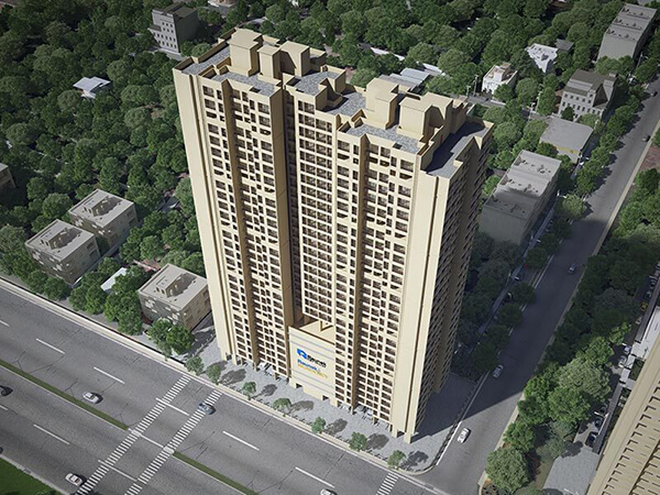Raunak Residency, Thane – Illustrated