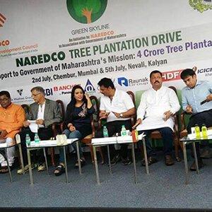 NAREDCO Tree Plantation Drive at Chembur