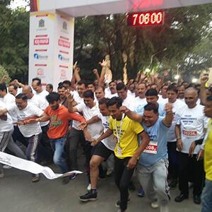 Police Commissioners Marathon at Thane