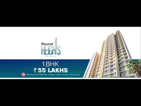 A dream home in Thane - Raunak Heights | Raunak Group