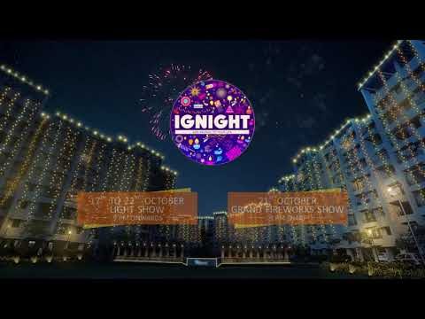 IGNIGHT | Light and Firework show | Raunak Group