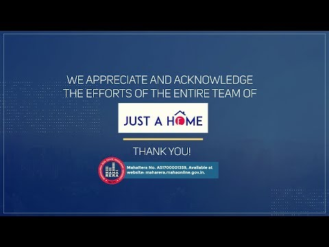 Hearty congratulations to Just A Home | Raunak Group