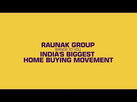 Presenting all the reasons to #SayNoToRent | Raunak Group