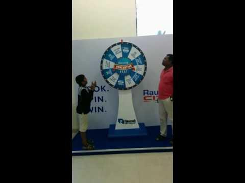 Mr Sidhivinayak spun the wheel and won big!
