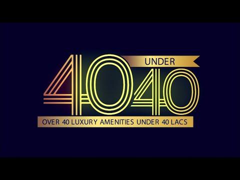 40 luxuries under 40 lacs! | Raunak Urban Centre | Raunak Group
