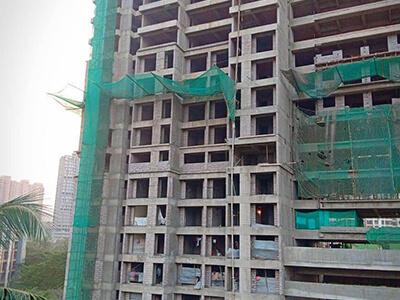 Raunak Residency Site Progress