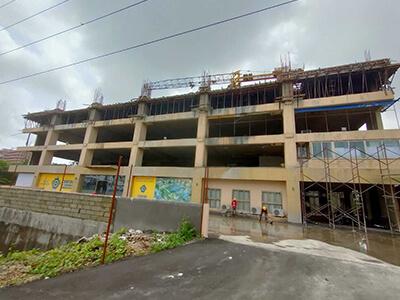 Raunak Codename Centre of Mumbai Site Progress