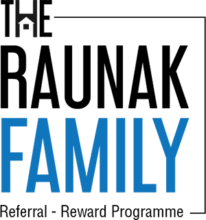 The Raunak Family Logo