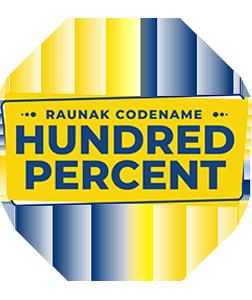 Codename Hundred Percentage Logo