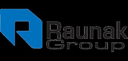 Raunak Group Book Online System Logo
